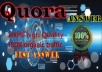 Submit Your Website 6 High Quality Quora Answer