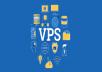 VPS linux server hosting 5gb ssd