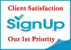 Give You 10+ Real Referral Signups from differant USA IP
