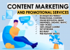ORM : Content Marketing and Promotional Services for 30 Days