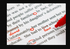 I will proofread, rewrite, and line edit anything in English