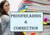 I would Proofread and Edit your Document with technical Keywords and Proper Referencing