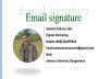 i will Design Clickable HTML Email Signature quick and professional way