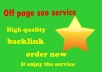 monthly white hat off page seo
