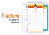 I will create a professional online google form or jotform