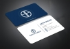 I will do amazing business card for you