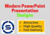 Modern PowerPoint Presentation designs