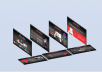 Read Black PowerPoint Slide Design for Presentation