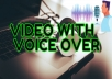 I will convert blog post, article,text or script into an engaging video with voice over