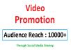 Video Viral Marketing Promotion 10k