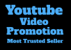 GENUINE YOU-TUBE VIDEO PROMOTION (NEW)