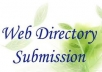 I will Submit your website in 100+ high Page Rank Directory