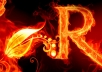 "will create Ultra Full HD Resolution Fire ""Text Effect"" Wallpaper Of Any Screen Resolution"