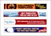 design a banner, header or template