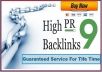 Get 90+ High Quality Backlinks from Different High PR Social Sites