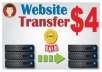 Transfer, Migration of WordPress website to new host