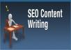 provide SEO Content Writing