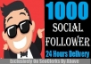 Start Instant 1000 Followers To Soical Media Profile