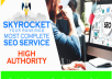 Skyrocket SEO Ranking Booster with Premium Backlinks