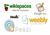 Create 30 Web2 Blogs for Your website with image and Videos