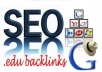 Make 30 Edu and Gov Forum profile backlinks for your website