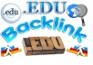 Make 800 Edu Blog comments backlinks for your website