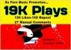 Do Music Promotion-  19K PIays, 150 Llkes and 105 Re-post with 27 C0mments