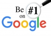 SERP on Google 1st page with my Advanced Link Pyramid