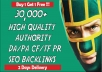 2017 Explode Your Google Results with 30,000 GSA Ser High,Authority Backlinks