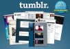 create powerful SEO backlinks from Tumblr blogs to rank your site higher
