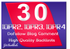 I will give blog comment 10 PR2, 10 PR3, 10 PR4