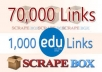I will do a scrapebox blast of 70 000 blog comments @@&&
