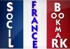 create your site backlink in 10 FRANCE hosted quality social bookmarking sites