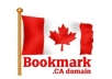 manually submit your site to top Canadian social bookmarking site, Canada
