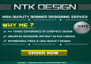 Get 250x250 and 300x250 Static or Animated Banner