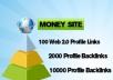 12000 multi tier pyramid - 3tiers 100 Web20 high pr20... for $14