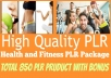 Give-You-High-Quality-850-Health-And-Fitness-PLR-Prod-for-2