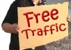I will give you a top 100 list of where you can get free traffic for your website