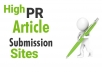 manually submit your article or pdf to top 50 document submission sites