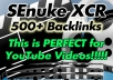 run SEnuke XCR for your YouTube video that is Google Penguin Friendly