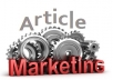 Provide Cost-Effective article submission To your web... for $17