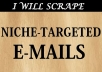 Scrape 2000 EMAILS For A Specific Niche