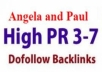 Create A Xtreme Service Of angela-Paul Backlinks To y... for $17
