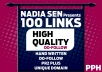 I will Provide 100 PR2 To PR7 Do-Follow High Quality Blog Comments Links Manually