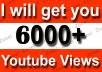 Instant Start 6000+ High Retention YouTube Video Views