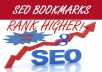create 10 High PR7-PR9 Unique SOCIAL Bookmark Backlink for your any site manually