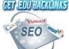 Create 200 EDU Backlinks + 200 BONUS BACKLINKS For AN... for $4