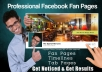 I will create a PROFESSIONAL Facebook Fan Page design that Gets You Noticed and Results