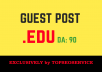 Dofollow Guest Posting on Top .EDU University Website