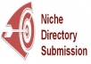 do 10 local business listings and 10 niche directories submissions manually../*/..